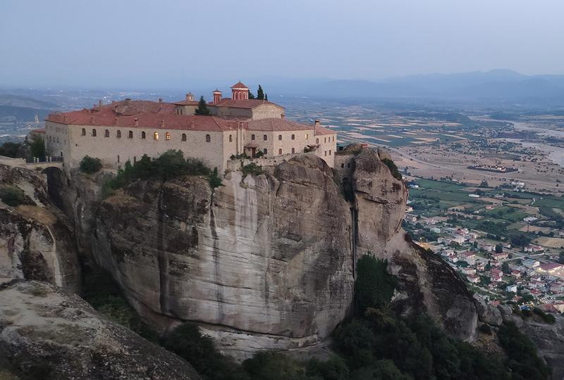 meteora, monastery, rocks ag stefanos