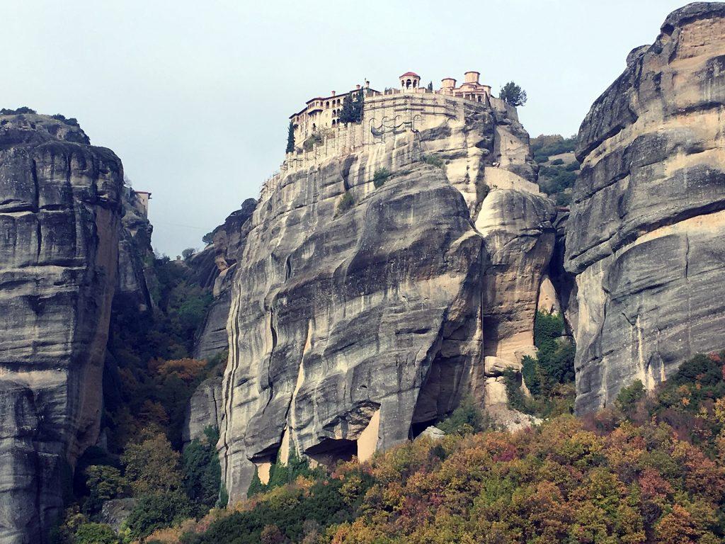 meteora, monastery, rocks barlaam